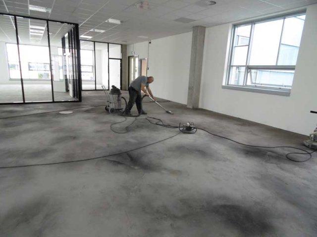 Betoon Look Vloer : Betonlook vloeren voor kantoor woonhuis of badkamer
