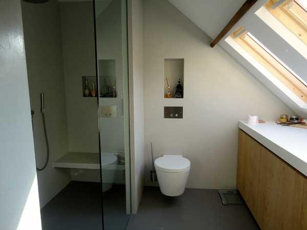 Badkamer Met Steigerhout : Badkamermeubels zelf maken natuursteen waskom be cm